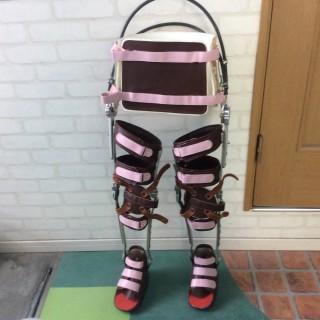 長下肢装具RGOフープドケーブル使用